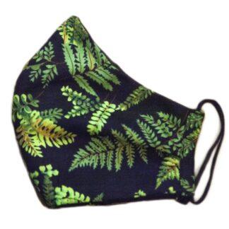 Kiwiana Fern Leaf Mask
